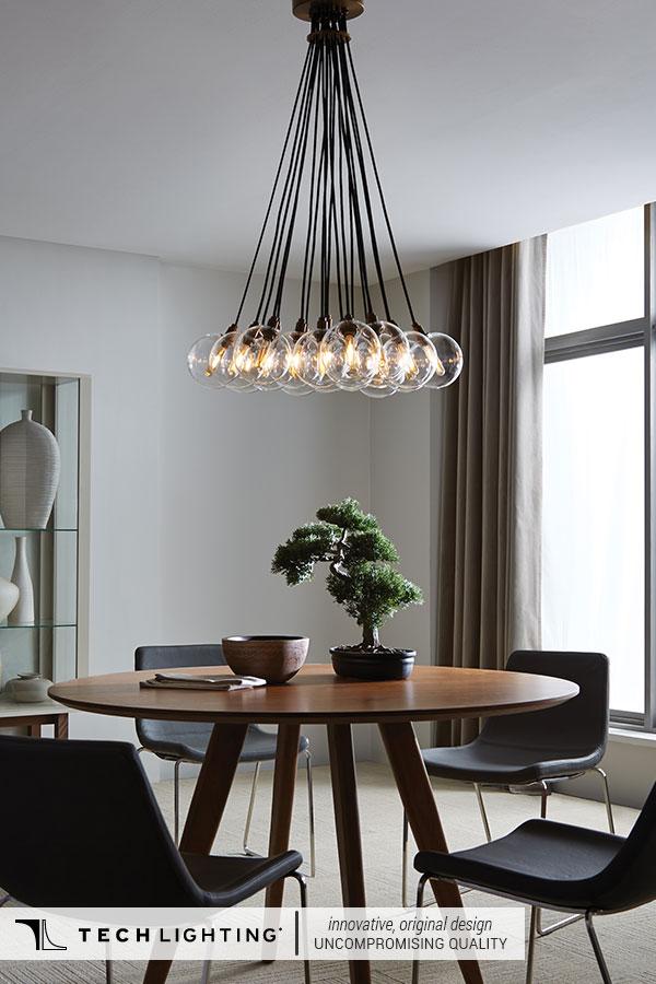 Tech Lighting Contemporary Designer Lighting Home Decor Ideas Gambit Multi Pendant Light
