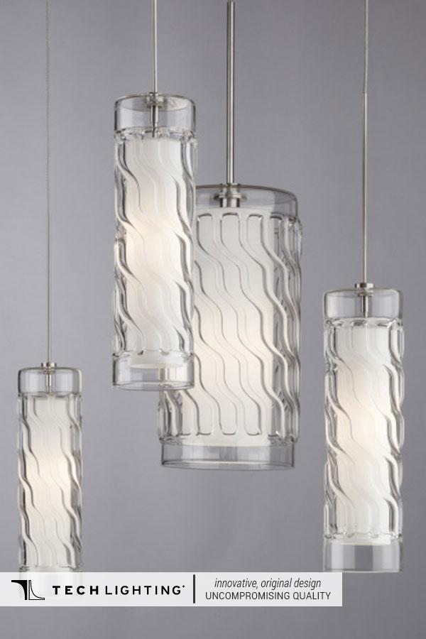 Tech Lighting Contemporary Designer Lighting Home Decor Ideas Liza Pendant Light
