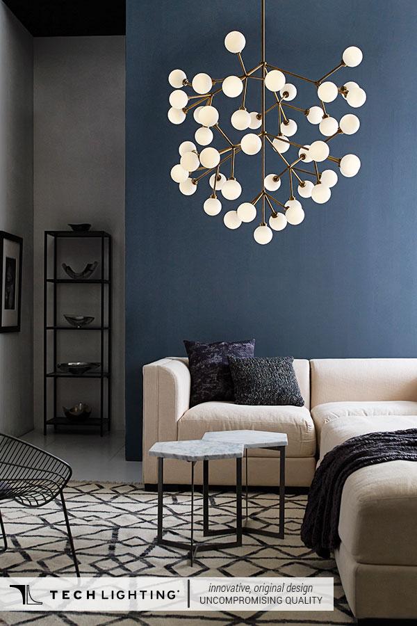 Tech Lighting Contemporary Designer Lighting Home Decor Ideas Mara Grande Pendant Light
