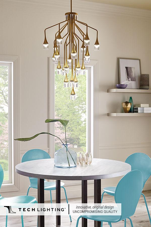 Tech Lighting Contemporary Designer Lighting Home Decor Ideas Patrona Pendant Light