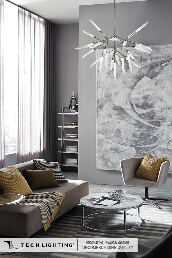 Tech Lighting Contemporary Designer Lighting Home Decor Ideas Spur Pendant Light