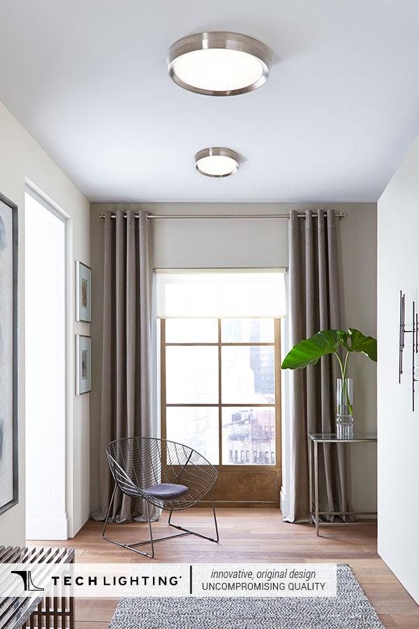 Tech Lighting Contemporary Designer Lighting Home Decor Ideas Gen Ceiling Mount